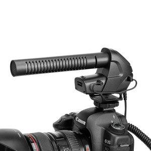 Image 4 - BOYA BY BM3031 מיקרופון Supercardioid הקבל ראיון קיבולי מיקרופון מצלמה וידאו מיקרופון עבור Canon Nikon Sony DSLR למצלמות