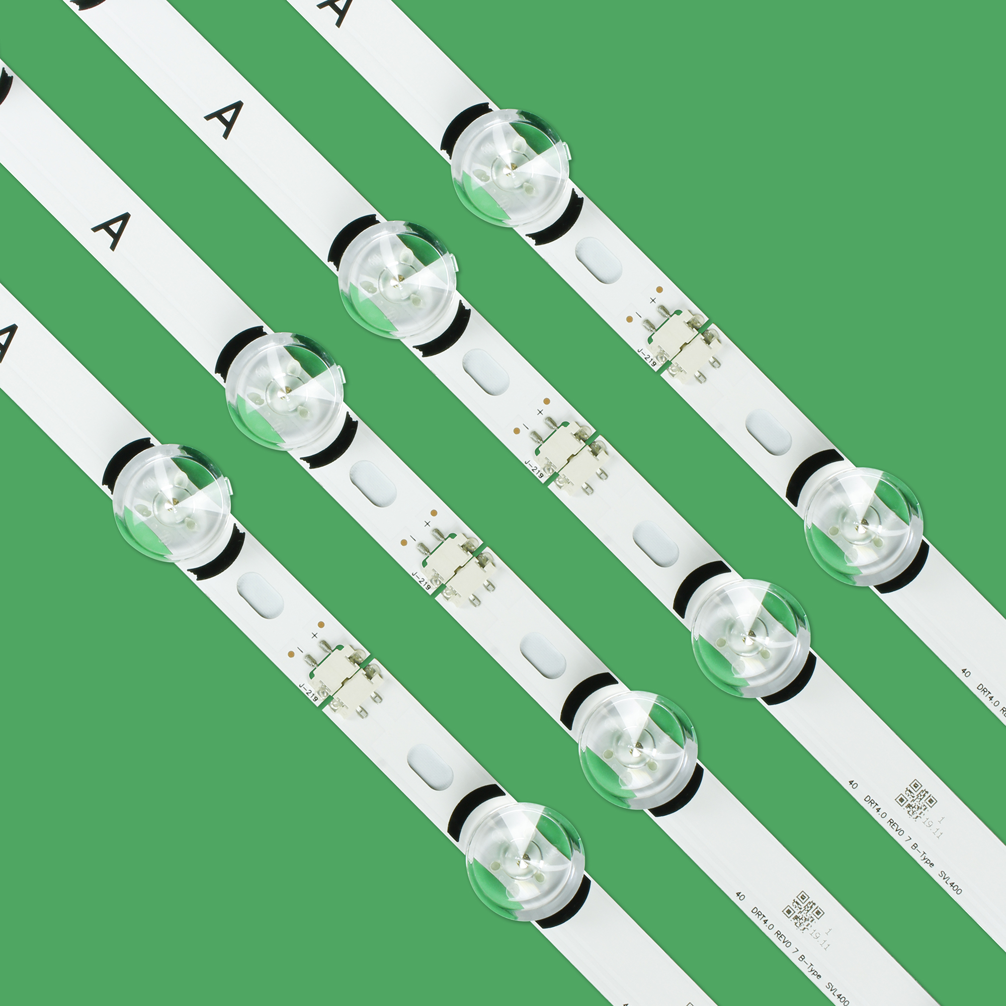 8pcs/set LED Strip For LG 40 DRT4.0 REV0 7 A/B-Type SVL400 6916L-0884A 6916L-0885A 40LF630V 40LX560H 40LH5300 40LH5700 40LF570V