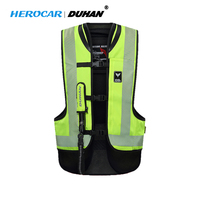 DUHAN Motorcycle Airbag Motorcycle Vest Moto Advanced Air Bag System Protective Gear Reflective Motorbike Airbag Moto Vest