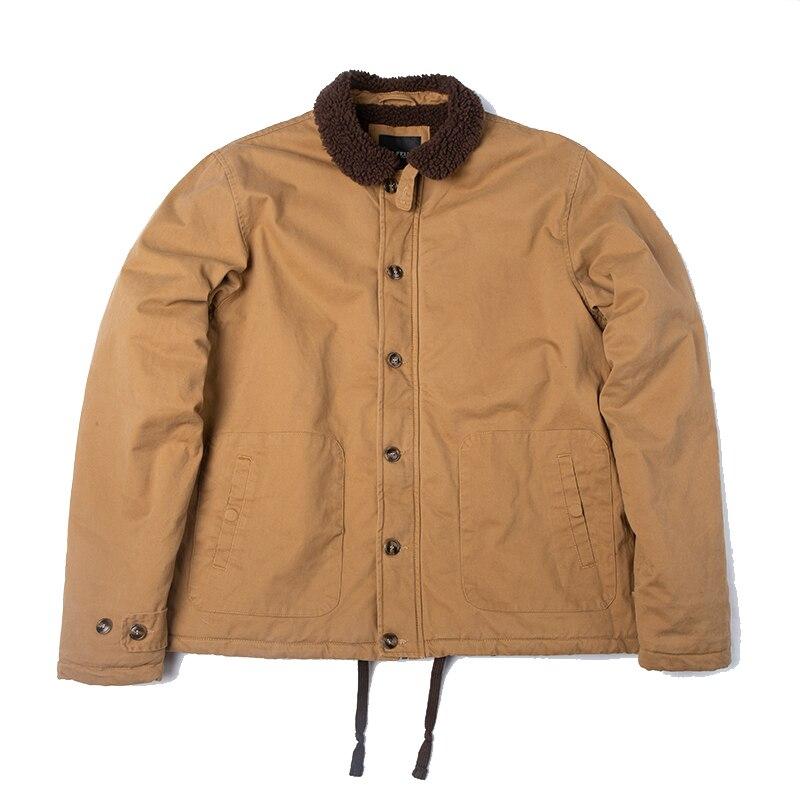 DAFEILI 100% хлопок n1, куртка с шерпа, Толстая Уличная куртка, Теплая мужская зимняя куртка Куртки      АлиЭкспресс - Стильная одежда на Али