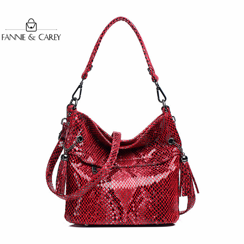 2020 New Luxury Women Bags Shoulder Bag High Quality Handbag Quality Designer Red Crossbody Bags With Tassel Lady Hot Sale