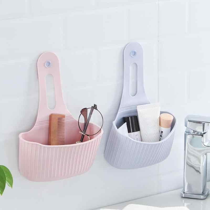 Gąbka kuchenna uchwyt spustowy przyssawka półka nad zlewozmywak mydło kuchnia wiszące spustowy przechowywanie narzędzia mydło toaletowe półka organizator