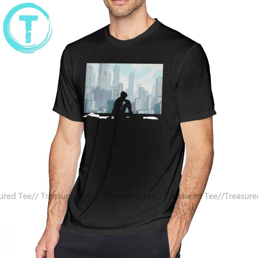 Ghost In The Shell T Shirt Ghost In The Shell T-Shirt 100 Cotton Funny Tee Shirt Mens Classic Short-Sleeve Print 4xl Tshirt