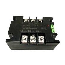 TSR-100WA-H Трехфазный тиристорный фазовый регулятор переключения твердотельный Регулятор модуль 4-20мА