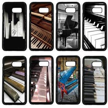 Funda de teléfono móvil de Piano con Software musical carcasa dura de PC protección para Samsung Galaxy A3 A5 A7 A8 2015 2016 2017 2018 Note 8 5 3 2 carcasa