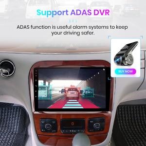 Image 5 - Junsun v1 4g + 64g android 9.0 dsp para mercedes benz s classe w220 s280 s320 s350 s400 s430 s500 s600 1998 2005 rádio do carro gps dvd