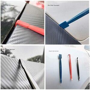 Image 5 - 14 pçs janela matiz ferramentas folha de carbono do carro vinil envoltório filme rodo ferramenta kit motor adesivo e decalques embrulho raspador conjunto