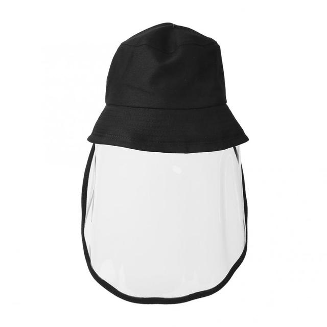 Protective Sunproof Fisherman's  Hats with Anti-Saliva Transparent Face Shield Protection Equipment Hot Sale