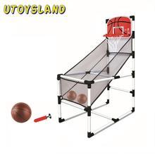 Игровой набор для спорта в помещении, съемный баскетбольный обруч, аркадная игра, тренировочная игрушка для детей, Обучающие игрушки, подар...
