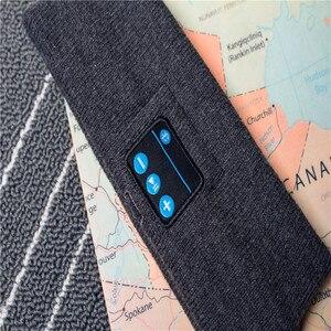 Image 2 - Winter Knitting Music Headband Headset W/ Mic Wireless Bluetooth Earphone Headphone for Running Yoga Gym Sleep Sports Earpiece
