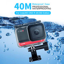 Underwater Dive Case for Insta 360 ONE R 4K 360 Edition Waterproof Box Diving Swimming Protective Cover Shell Camera Accessories(China)