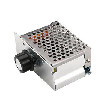 Profesjonalne 4000W 220V o dużej mocy regulatory napięcia SCR regulator prędkości elektroniczny regulator napięcia regulator obrotów HR tanie i dobre opinie 28565 Jednofazowy Other