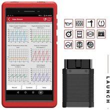 השקת X431 יתרונות מיני רכב OBD2 סורק אבחון כלי IMMO מזרק ECU קידוד TPMS ABS דימום Wifi Bluetooth סורק