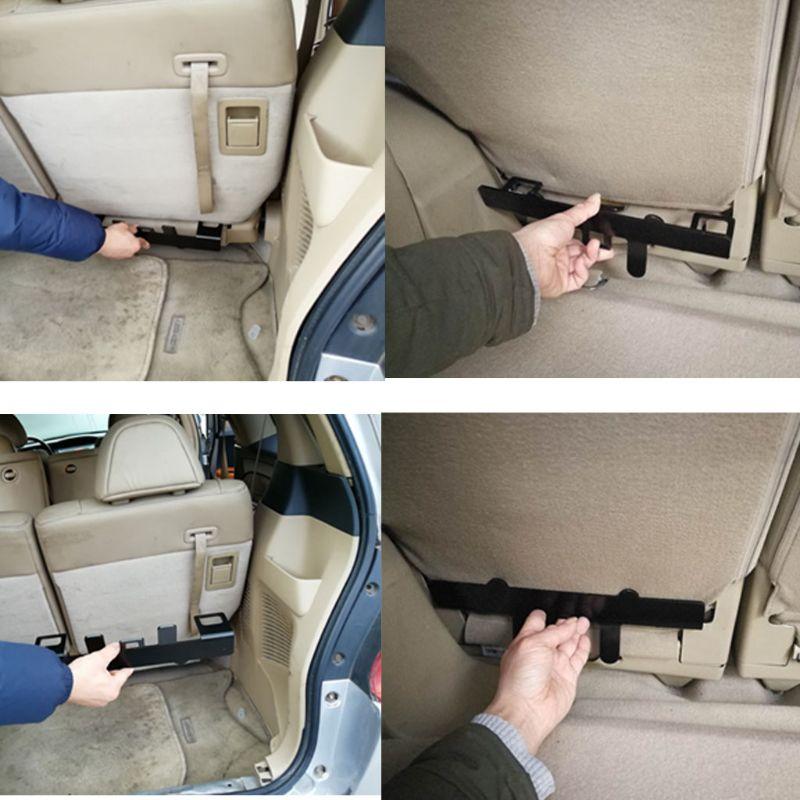 Universal Car Child Safety Seat Belt Steel Bracket Mount Base For ISOFIX Latch U1JF