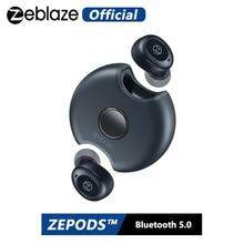 Zeblaze Zepods™Totalmente Senza Fili Auricolari Bluetooth5.0 360 ° di Rotazione Disegno IPX5 Impermeabile 18 Ore di Vita Della Batteria di Ricarica Veloce