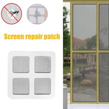 Stickers Mesh Window-Screen Insect Anti-Mosquito Home-Adhesive Bug Fix-Net Wall-Patch