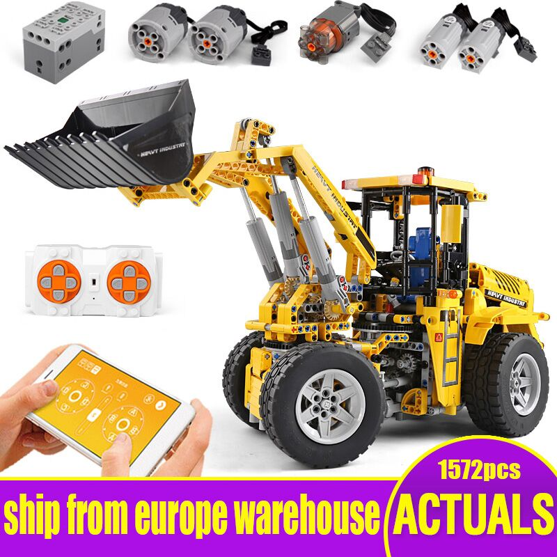 DHL 20006 Technic Car Series L350F Wheel Loader Model Compatible With Legoing 42030 Building Blocks Bricks Kids Christmas Gifts