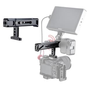 Image 3 - UURig R019 общая ручка скольжения с 1/4 и 3/8 резьбовыми отверстиями крепление для холодного башмака для монитора Sony Nikon камер