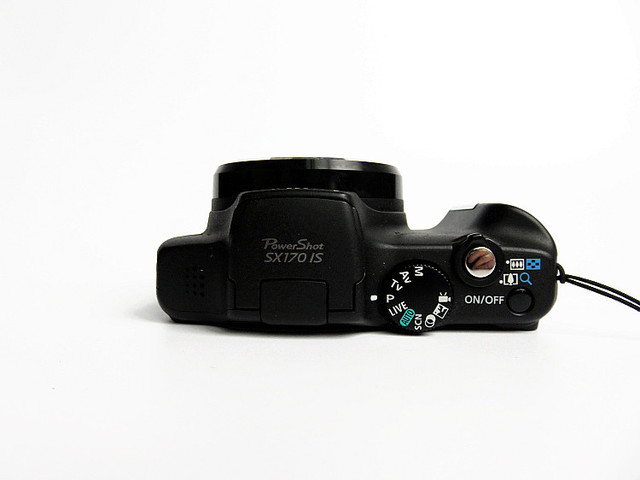 USED Canon PowerShot SX170 IS 16.0 MP Digital Camera 16x 720p HD video  Optical Image Stabilizer 2