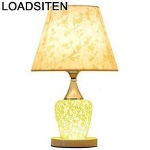 Comodino Mariage Lampada Da Tavolo Noel Cabeceira Chambre Deco Luminaria Lampara De Mesa Abajur Para Quarto Table Bedside Light