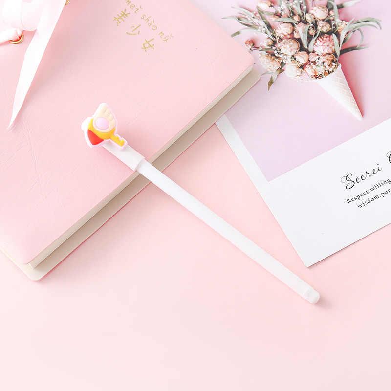 Card Captor Cardcaptor Sakura Thủy Thủ Mặt Trăng Đũa Dễ Thương 0.5 Mm Bút Chì Bút Gel Văn Phòng Phẩm Cosplay Phụ Kiện Quà Tặng Giáng Sinh Bé Gái