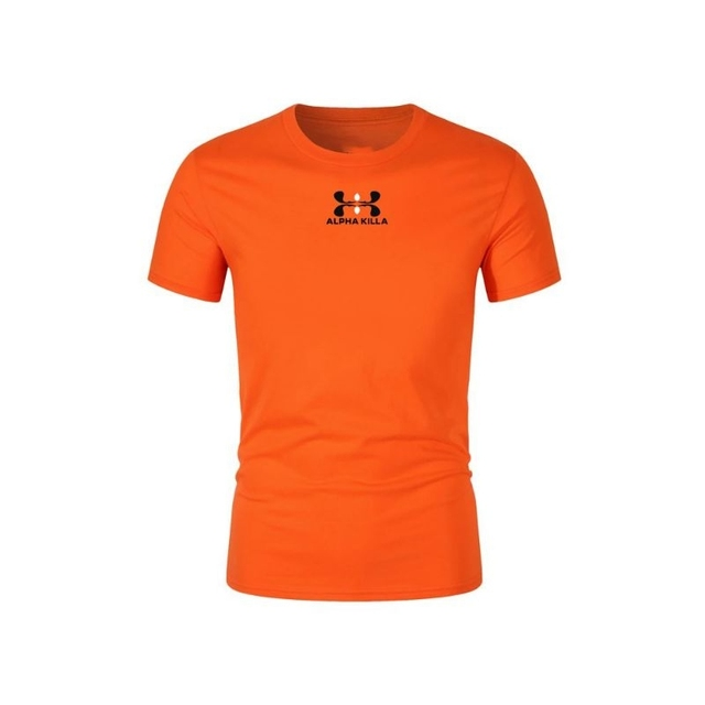 2021 Summer Brand Printed T-shirt Men Casual Men's T-shirt Multicolor Sleeve Casual T-shirt Top Standard Size XS-2XL 5