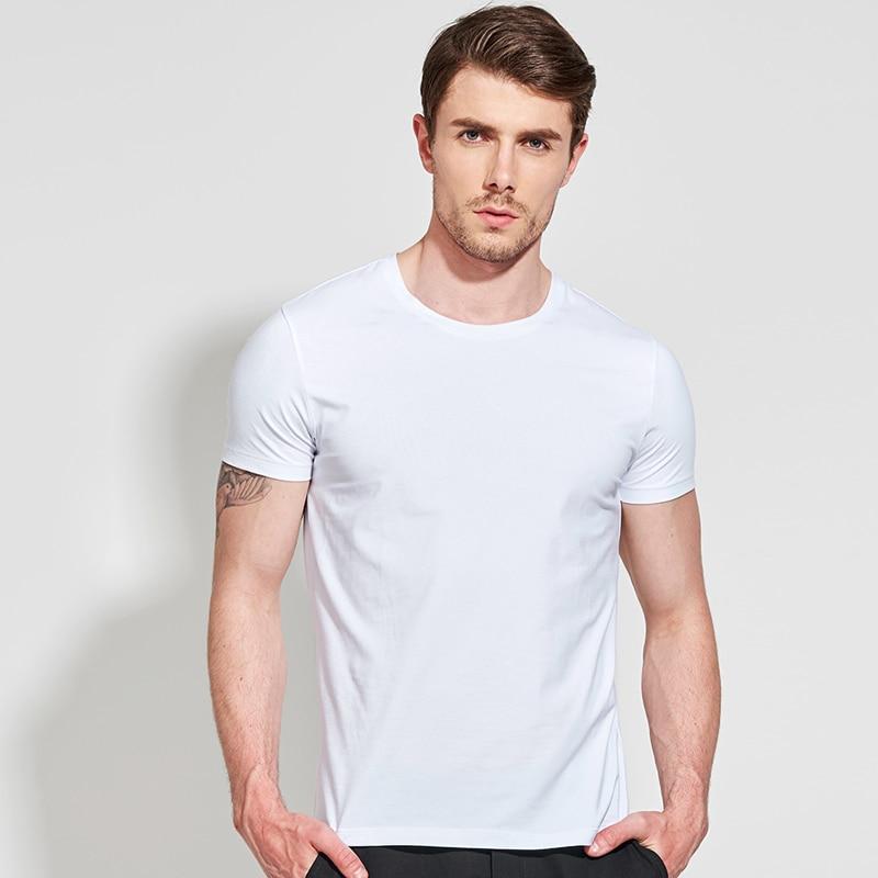 2019 Brand Clothing 11 Colors Men T Shirt Fitness Casual Mens Man T shirt for Male Tshirts S 3XL Funny Tshirt off white|T-Shirts|   - AliExpress
