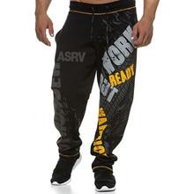 Casual Pants Training Men's Straight-Leg-Sweatpants Stretch Fitness Sports Fashion Gym