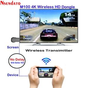Image 3 - Anycast M100 2.4G/5G 4K 미라 캐스트 모든 캐스트 무선 DLNA AirPlay TV 스틱 Wifi 디스플레이 동글 수신기 IOS 안 드 로이드 PC