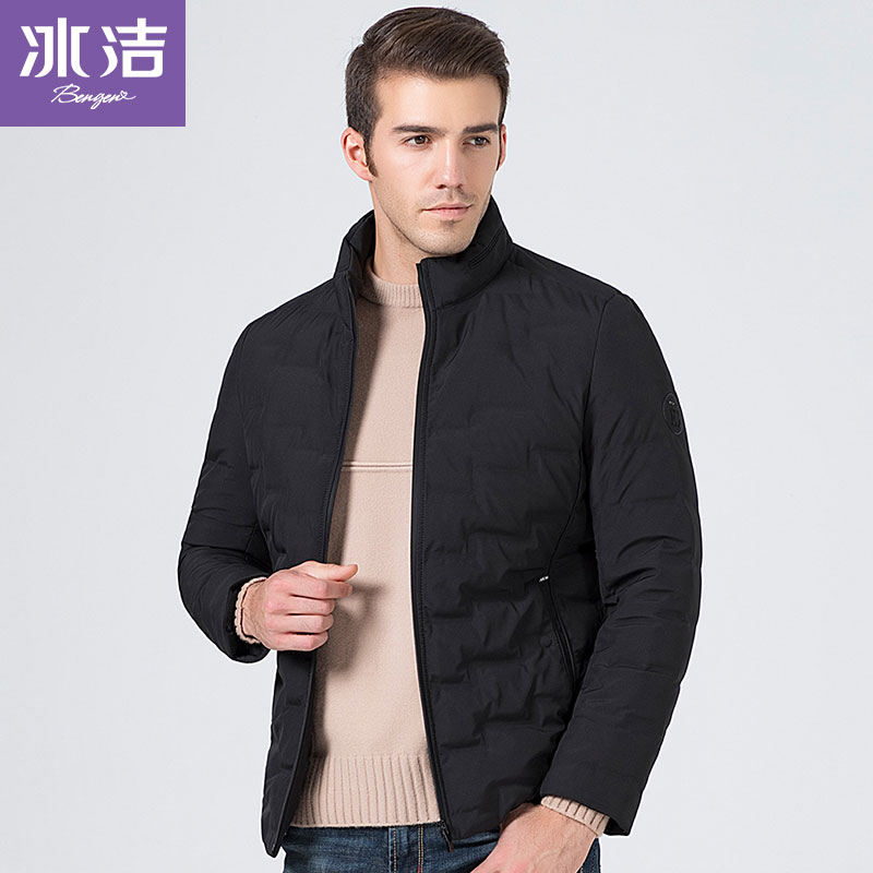 BG winter thicken   down   jacket men   down     coat   stand collar regualr top high quality casual outwear J80143003