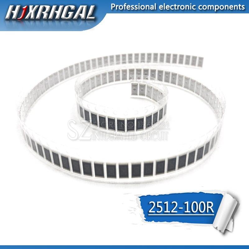1PCS 2512 SMD Resistor 100 Ohm 1W 5% 100R 101 Hjxrhgal