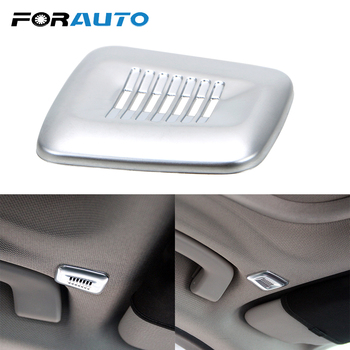 FORAUTO Car Interior Roof Dome Microphone Cover Trim Auto Accessories For BMW F30 F32 F07 F10 F15 F12 F25 X3 X5 3 4 5 6 Series image