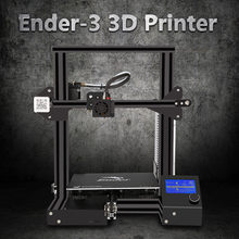 CREALITY 3D Printer Ender-3/3X/3Pro with Nozzle/PLA/Silicone Upgraded Tempered Glass Optional,Printing DIY KIT Hotbed(China)