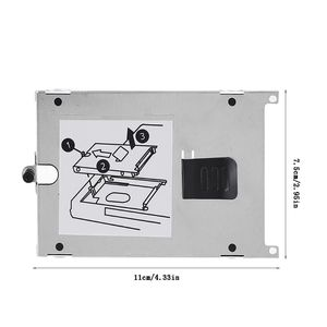 PC Computer Laptop HDD Hard Drive Mounting Tray Bracket for H-P NC6400 NC4400 PXPE