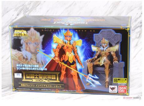 Ensemble sur le trône de luxe Saint Seiya BANDAI Tamashii Nations, tissu Saint, figurine d'action, mythe