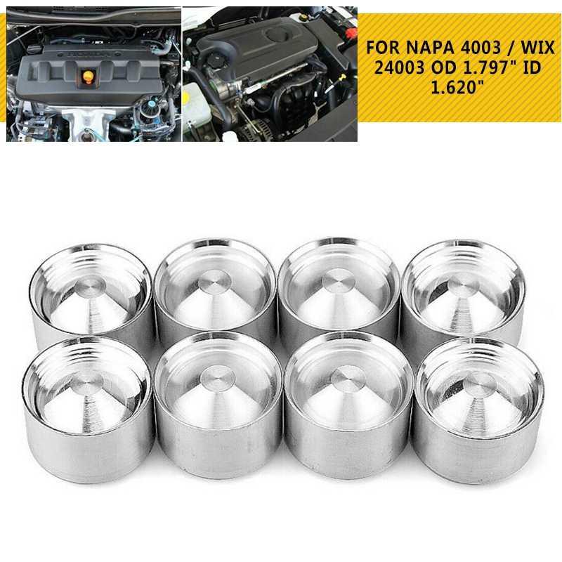 1/2-28 yakıt filtreleri Solvent D hücre alüminyum araba saklama kapları için NAPA 4003 WIX 24003 yakıt tuzak filtresi 6061-T6 aracı bölüm 2019 yeni