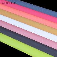 Lychee vida 135x50cm pano reflexivo variável brilhante refletindo luz fibra poliéster costura tecido diy costura artesanato