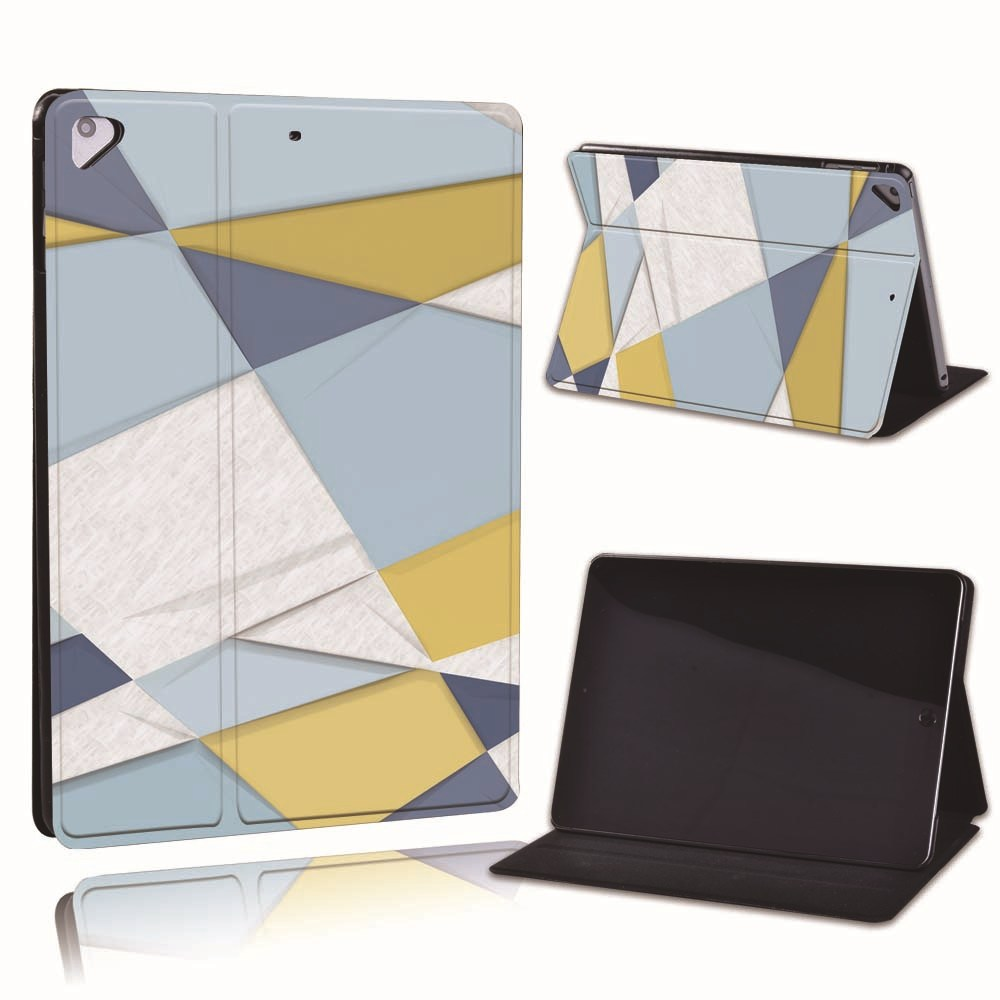 22.blue yellow Gold For Apple iPad 8 10 2 2020 8th 8 Generation A2428 A2429 PU Leather Tablet Stand
