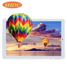 Tablet 10.1 Cal 3G telefon Dual SIM tablety Pc Android 7.0 Google Play 4/czterordzeniowy 2GB/32GB Tablet IPS 7 8 9 10 metalowy Tablet Pc