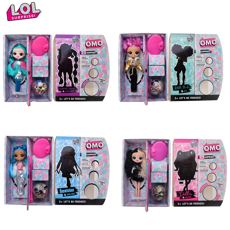 Hot Sale LOL Surprise Dolls OMG Winter Disco Dolls LOLs Dolls Blind Box Girl Play House Toys Gifts For Girl's Children's Gifts