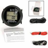 1pcs Car Auto Digital Tach/Hour Meter Tachometer LCD Backlight Replacement Part