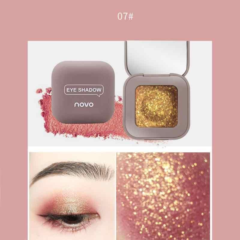 10 ألوان عالية ضوء عينيه Pallete ماكياج فرش لامع لؤلؤة ظلال العيون لوحة يشكلون لوحة مستحضرات التجميل Maquillage TSLM1