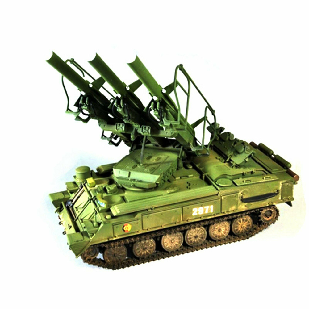 1:35 Simulation DIY Plastic Kid Gift Military Educational <font><b>Trumpeter</b></font> Russian Durable Tank Antiaircraft Missile Model Kit Toys image