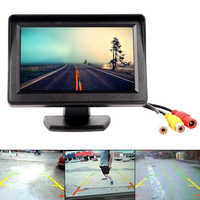 Cámara de estacionamiento de marcha atrás de pantalla de Monitor LCD de 4,3