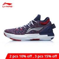 Li-Ning Männer YUSHUAI XIII LOW Professionelle Basketball Schuhe LICHT SCHAUM Kissen Futter li ning Sport Schuhe Turnschuhe ABAP095 XYL295