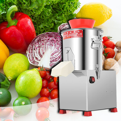 Household electric Multifunction carrot meat Crusher Commercial Fully automatic stainless steel Vegetable cutter
