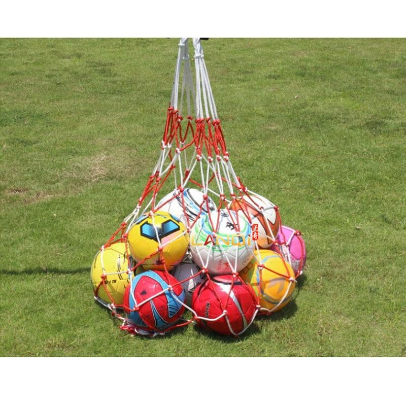 Portable Soccer Ball Goal Football Mesh Bag Net Super Big For Basketball Volleyball Handball Sports Training Carrying Bags