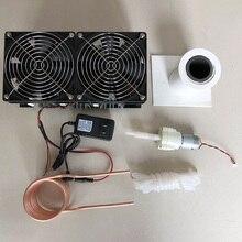 2500 Вт ZVS индукционный нагреватель высокочастотная индукционная нагревательная печатная плата расплавленный металл+ катушка Mayitr+ тигель+ насос