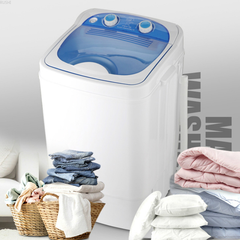 Top Loading 220VSingle Barrel Mini Washing Machine Washer and Dryer Washing Machine Portable Washing Machine image
