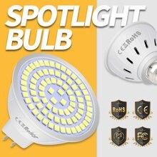 GU10 LED Lamp E14 Light Bulb E27 2835 SMD Spotlight MR16 220V Ampoule Energy Saving Indoor Lighting B22 4W 6W 8W